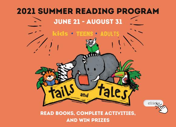 LFPL Main Spotlight Summer Reading 21